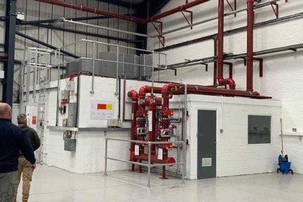 200mm Sprinkler Valve Stations & Sprinkler Risers